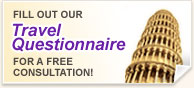 Fill our our Travel Questionnaire for a free consultation